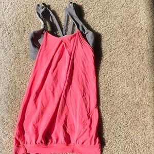 Lululemon top with built in bra